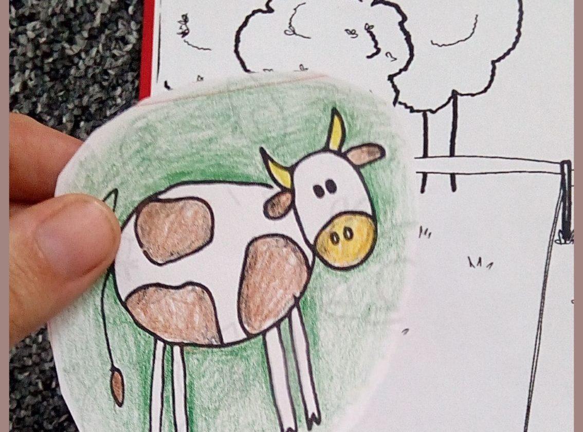 nesladkar lepeni kravy z kalendare do leporela