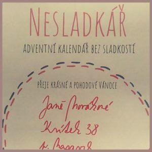 Balíček s Nesladkářem vám přijde s takovýmto krásným přáním krásných a pohodových Vánoc