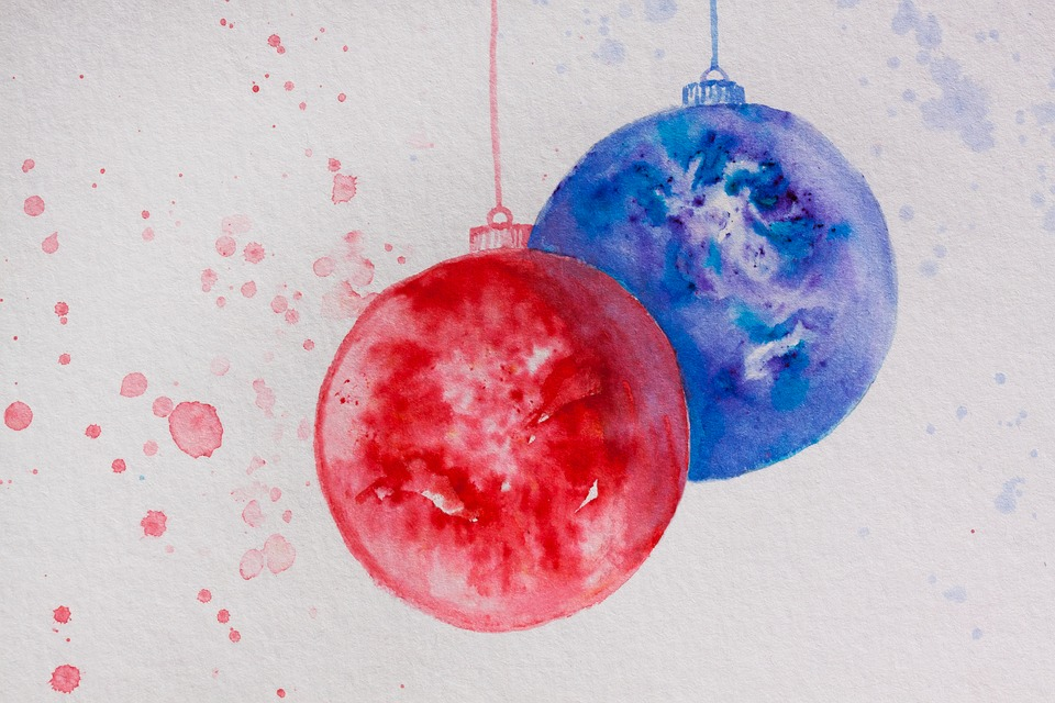 Nakreslené vánoční ozdoby. Trochu jiná výzdoba na Vánoce. Nesladkář je taky trochu jiný