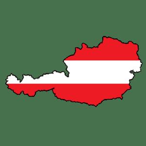 Rakouská vlajka - jak se slaví Vánoce v Rakousku