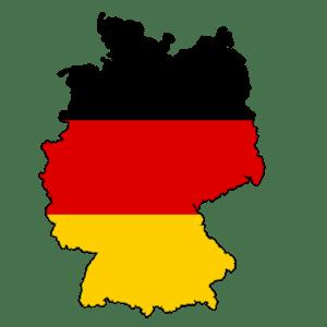 Německá vlajka - jak se slaví Vánoce v Německu