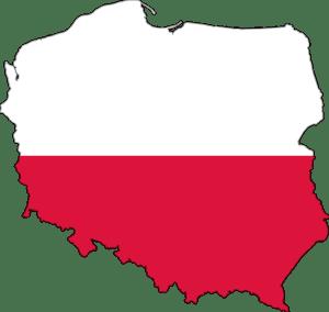 Polská vlajka - jak se slaví Vánoce v Polsku