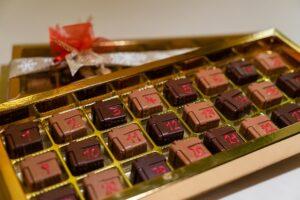 Adventní kalendář z čokolád